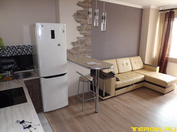 Мебель в однокомнатной квартире дизайн